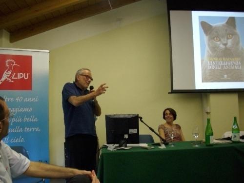 Danilo Mainardi, etologo di fama internazionale e Presidente onorario della LIPU, presenta il suo ultimo libro